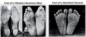 Business man vs natural world